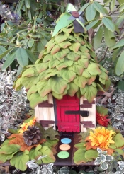 tinkerbell's fairy house craft